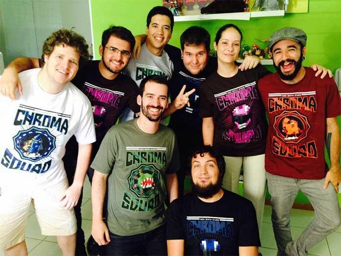 Behold Studios, produtores brasileiros do sucesso Chroma Squad (Foto: Divulgação/Behold Studios)