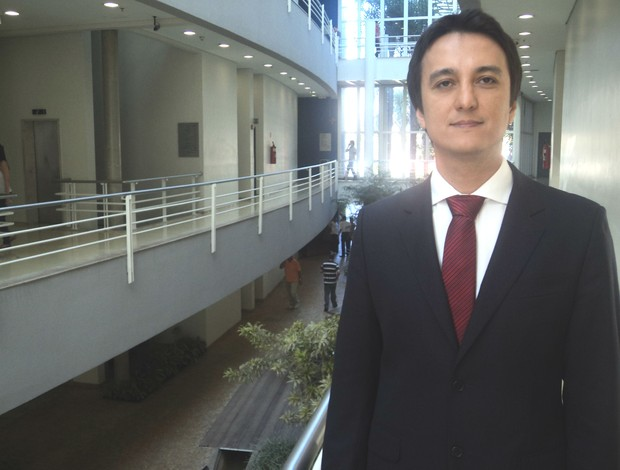 Rafael Trindade, coordenador médico da agência antidoping da CBAt (Foto: Thiago Braga/Sportv.com)