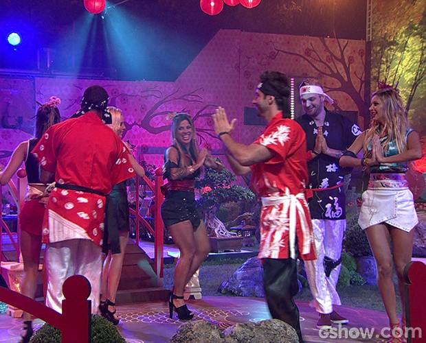 festa jardim japones : festa jardim japones:festa jardim japones resumo 620×500 (Foto: BBB / TV Globo)