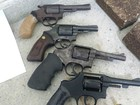 Quatro revólveres são apreendidos em penitenciária de Itamaracá, PE