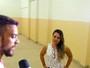 Barreiros faz gol da vitória do Potiguar e pede namorada em casamento