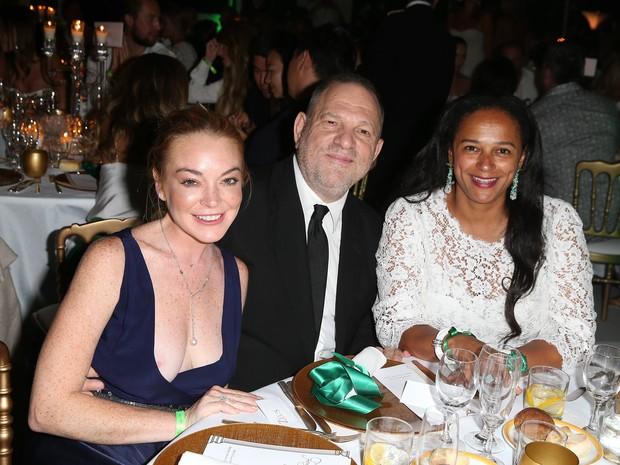 Lindsay Loham mostra demais em festa na Sardenha, na Itália (Foto: Grosby Group/ Agência)