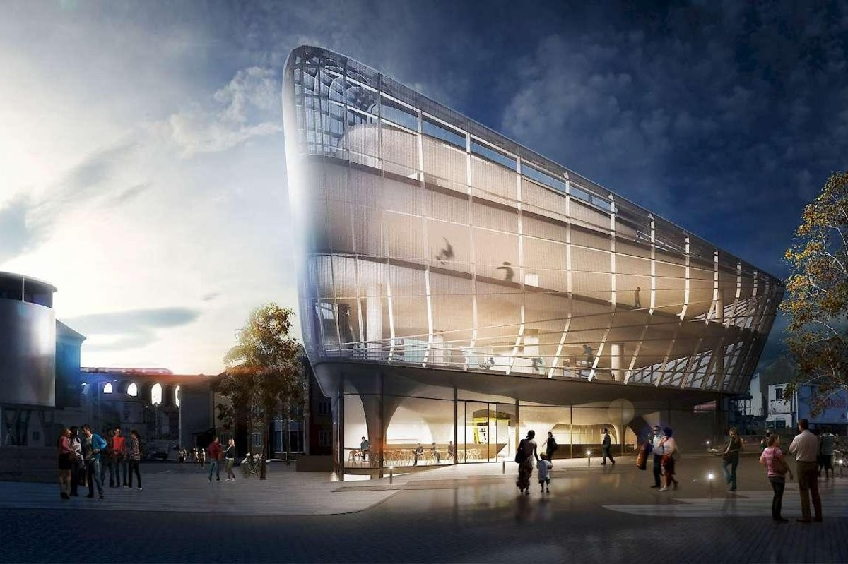 Prdio deve ficar pronto no fim de 2017 ou no incio de 2018 (Foto: Divulgao/Guy Hollaway Architects)