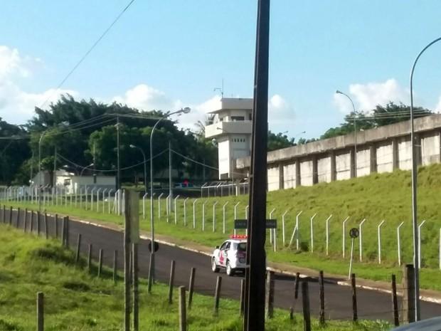 Detentos foram transferidos para o Regime Disciplinar Diferenciado (RDD), em Presidente Bernardes (Foto: Stephanie Fonseca/G1)