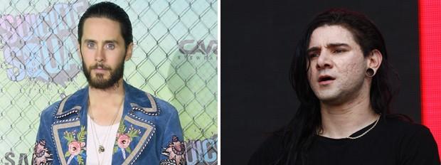 Jared Leto e Skrillex (Foto: Getty Images)