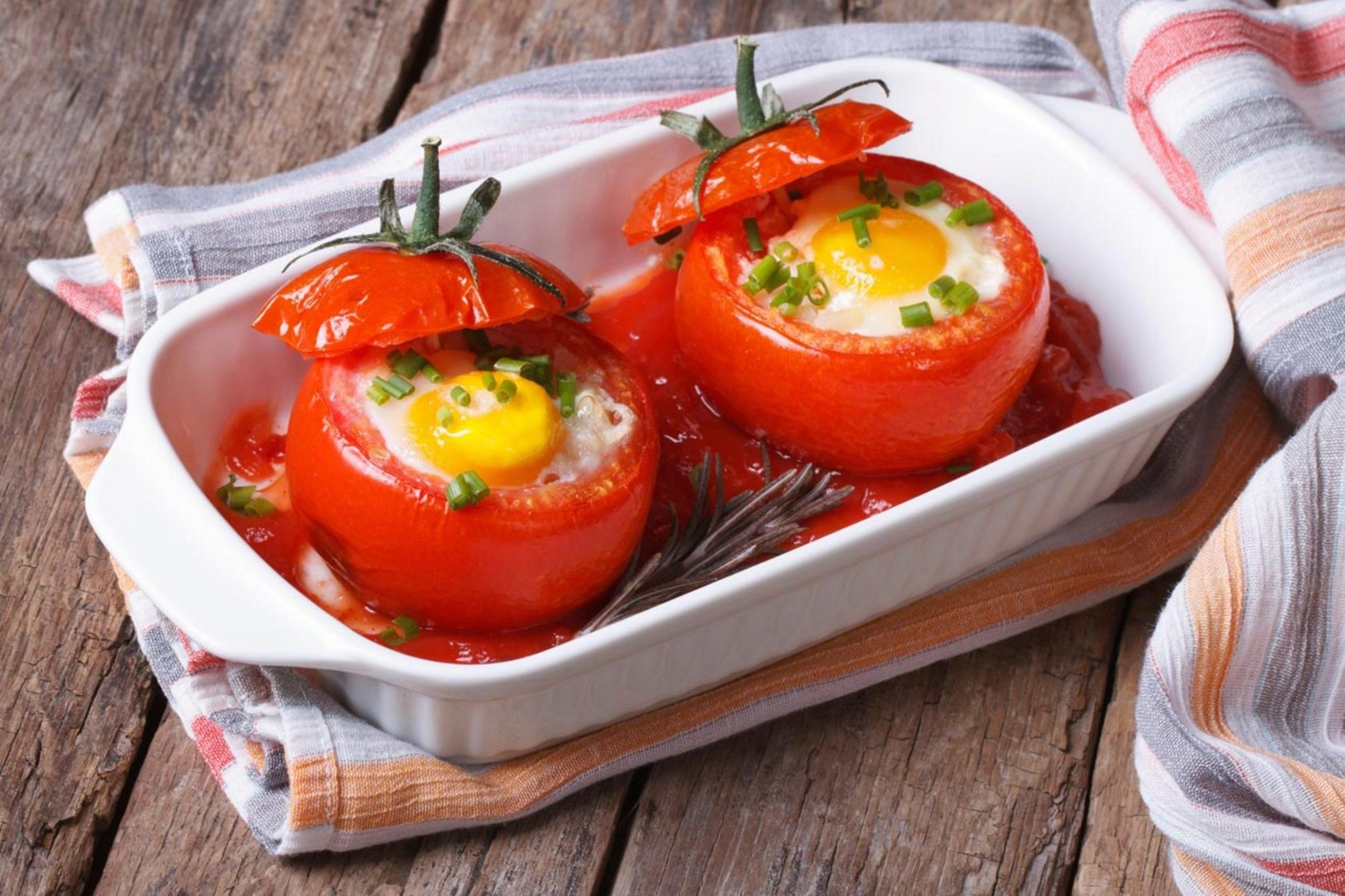Os tomates recheados com ovo (Foto: Divulgação)