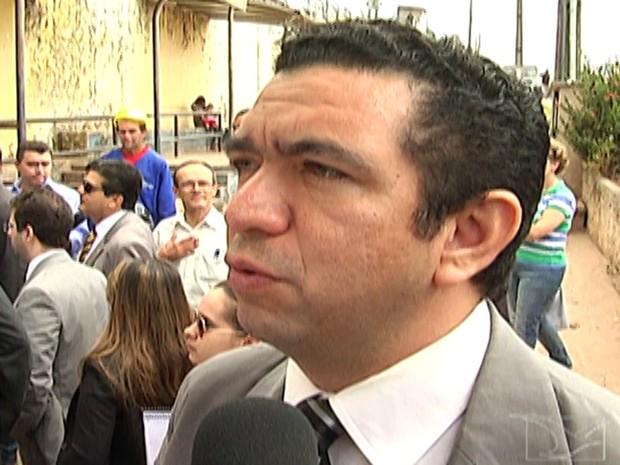 Juiz Douglas Martins, do CNJ, criticou elevado número de detentos mortos em presídios locais (Foto: Reprodução/TV Mirante)