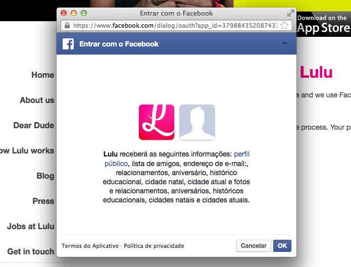 Aplicativo funciona integrado ao Facebook (Foto: Reprodução/Helito Bijora) (Foto: Aplicativo funciona integrado ao Facebook (Foto: Reprodução/Helito Bijora))