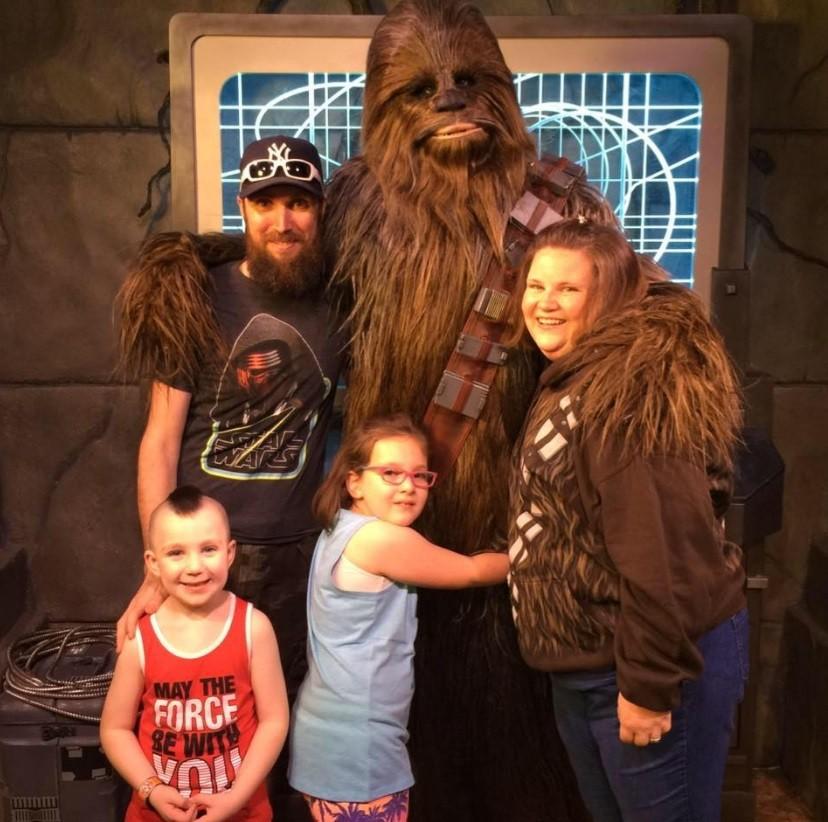 A família Payne conhece Chewbacca