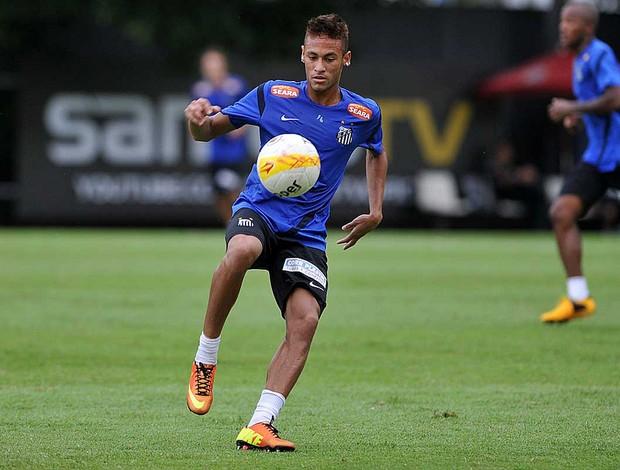 neymar treino santos (Foto: Ivan Storti/Divulgação Santos FC)