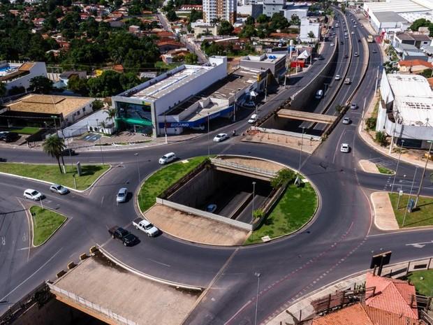 Serviços de finalização da obra da Trincheira Santa Rosa irão custar R$ 3,7 milhões (Foto: Meneguini/Gcom-MT)