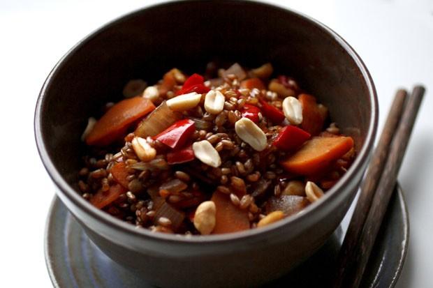 Receita de salada de trigo xadrez  (Foto: Divulgação)