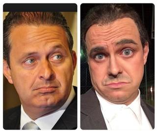 Humorista Carioca imitaria o Eduardo Campos na TV (Foto: Reprodução/Instagram)