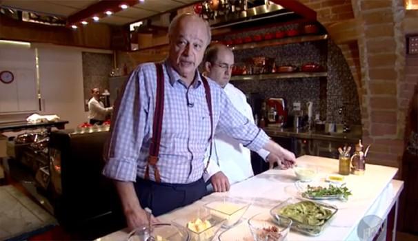 Massimo Ferrari ensina receita de Lasagna Genovese (Foto: Reprodução / EPTV)