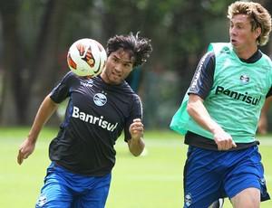 misael grêmio (Foto: Lucas Uebel/Grêmio FBPA)