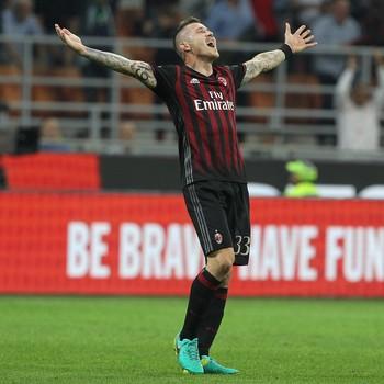 Juraj Kucka  Milan x Sassuolo (Foto: Getty Images)