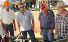 Aluguel facilita negócios na feira (Érico Andrade/G1)
