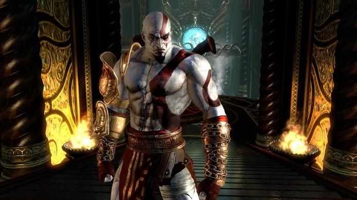 Kratos é o protagonista de GoW e um personagem aclamado pelos gamers (Foto: Divulgação)