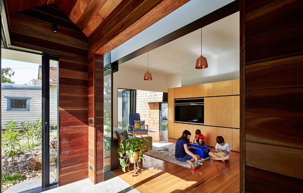 Uma casa ou uma vila? (Foto: Peter Bennets/ Divulgação)