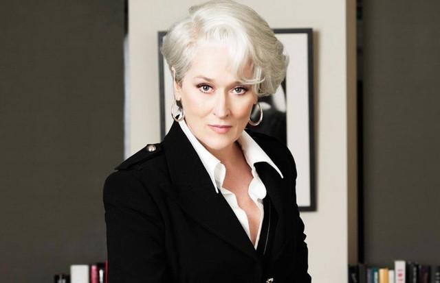 """Meryl Streep em """"O Diabo Veste Prada"""" (Foto: Reprodução)"""