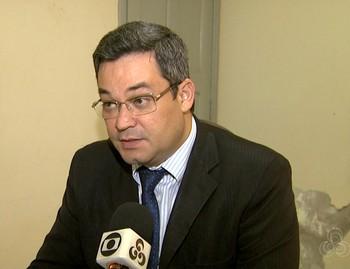 Cleylton Videira dos Santos, delegado da Polícia Civil (Foto: Reprodução/Rede Amazônica Acre)