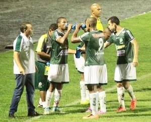 Treinador Leandro Niehues do Luverdense (Foto: Assessoria/Luverdense Esporte Clube)