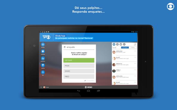 screenshot de Globo Beta