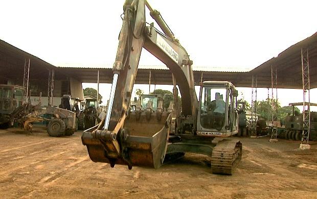 Crescimento do mercado na construção civil tem aberto oportunidades para operadores de máquinas pesadas (Foto: Bom Dia Amazônia)