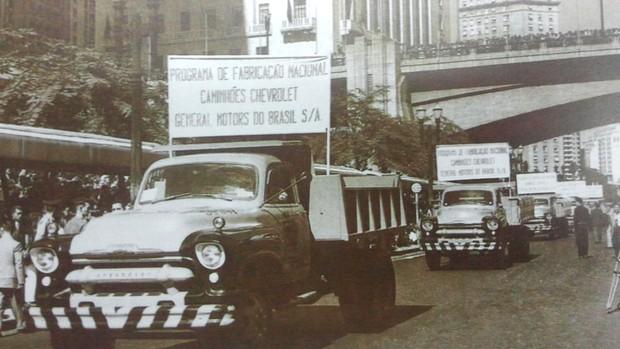 Veja fotos históricas da fábrica da GM em São José dos Campos