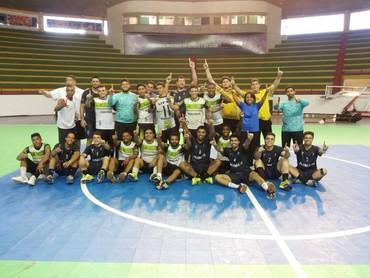 UFPI/Unidos Liga Nordeste Handebol (Foto: Reprodução/Facebook)