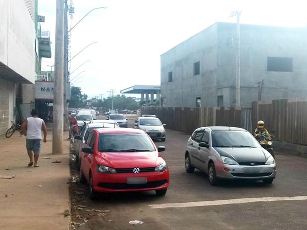 IPVA, carros, trânsito, Macapá, Amapá (Foto: Lorena Kubota/G1)