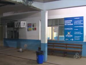 Funcionários de UBS temem ser vítimas de violência no bairro Congós (Foto: Reprodução/TV Amapá)