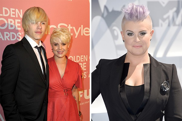 Kelly Osbourne e Luke Worhall (Foto: Getty Images)