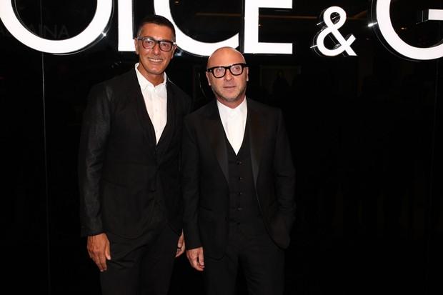 Domenico Dolce e Stefano Gabbana (Foto: Manuela Scarpa/Foto Rio News)
