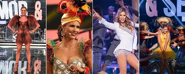 Fernanda Lima e suas produções para o Amor & Sexo (Foto: Gshow)