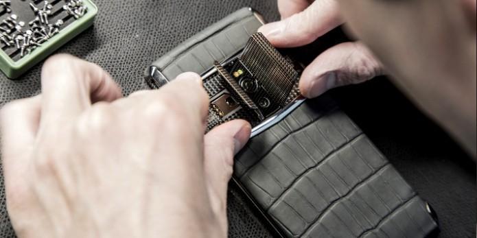 O Vertu Signature Touch é o smartphone de luxo mais potente  e caro já lançado (Foto:Divulgação/Vertu)