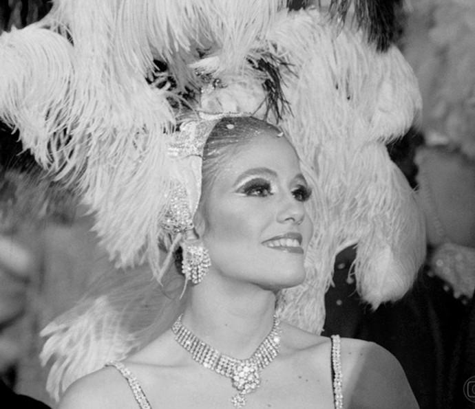 Sandra Bréa foi ex-manequim Nôemia na novela 'Pulo do Gato', 1978 (Foto: Nelson di Rago/ TV Globo)