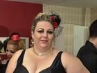 Candidata Plus Size Carioca mais velha festeja: 'Abriram exceção'