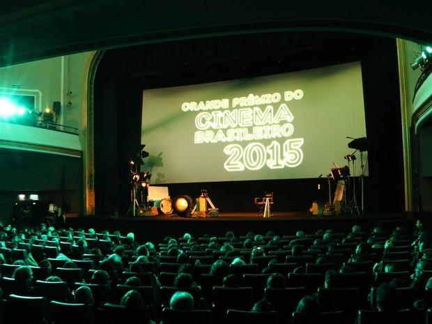Reaberto, Cine Odeon foi palco do 14º Grande Prêmio do Cinema Brasileiro (Foto: José Raphael Berrêdo / G1)
