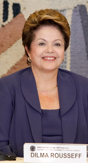 A presidente Dilma Rousseff durante a 41ª Reunião Ordinária do Pleno do CDES, no palácio Itamaraty, em Brasília (Foto: Roberto Stuckert Filho/PR)