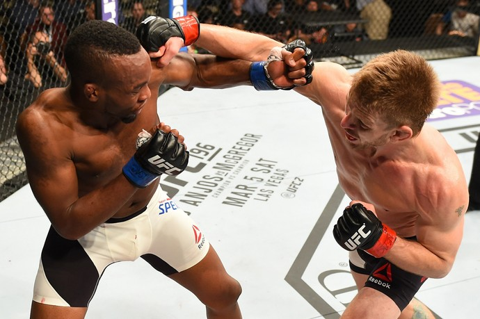 Sean Spencer Mike Pyle UFC MMA (Foto: Getty Images)