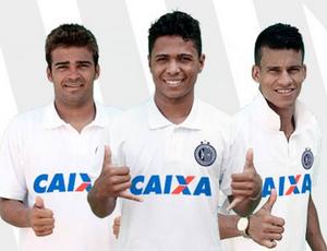 André Nunes, Jorginho e Thallyson (Foto: ReproduçãoFacebookASA)
