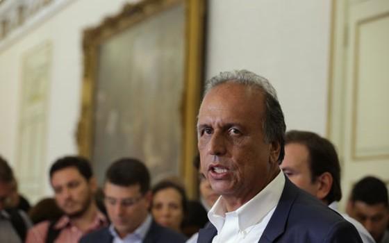 O governador do Rio de Janeiro, Luiz Fernando Pezão (Foto: Marcelo Theobald / Agência O Globo)
