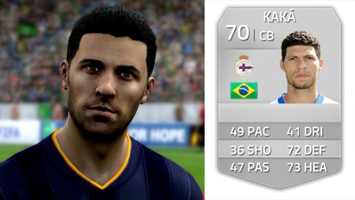 Kaká (RC Deportivo) (Foto: Kaká (Foto: Reprodução/Murilo Molina)˜)