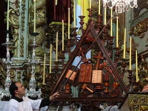 Oficio de Trevas São João del Rei 1 (Foto: Dedicom São João del Rei/ Arquivo)