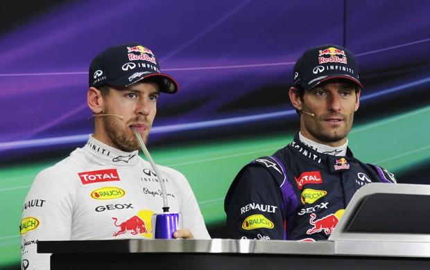 Mark Webber não pretende ajudar Sebastian Vettel no Japão: Cada um por si (Foto: Getty Images)