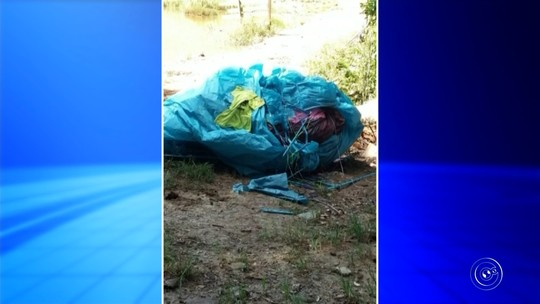 Balão de 25 metros cai em cima de rebanho e mata boi em sítio de Itatiba