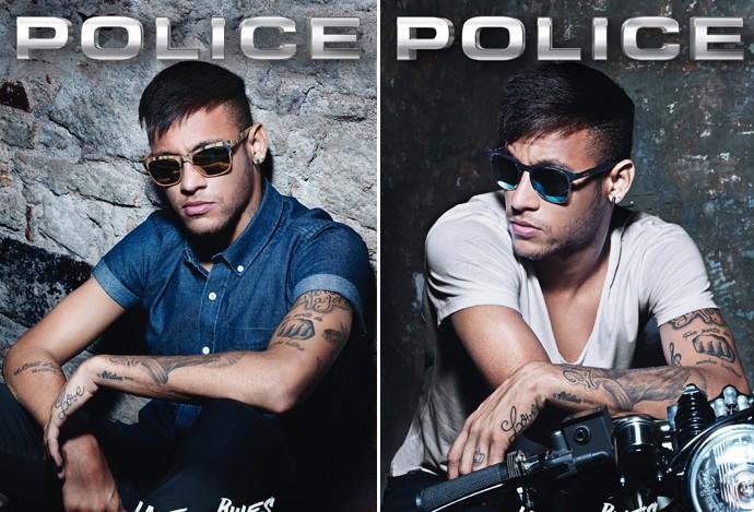 Garoto-propaganda de marca italiana, Neymar posa com modelo em moto ... 80b2f2867a