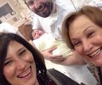 Beth Goulart  postou uma foto com a família | Reprodução
