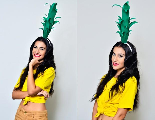 Fica a Dica - aprenda a fazer tiaras para o Carnaval (Foto: Roberto Teixeira / ego)